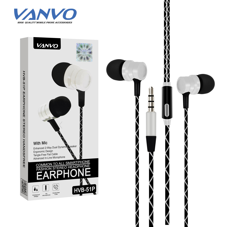 Earphone Vanvo HVB 51p