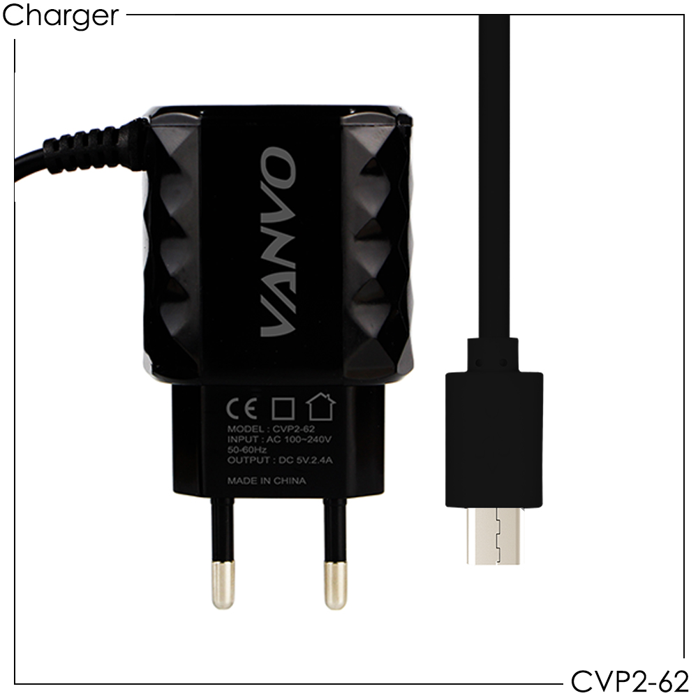 Travel Charger Vanvo CVP2-62