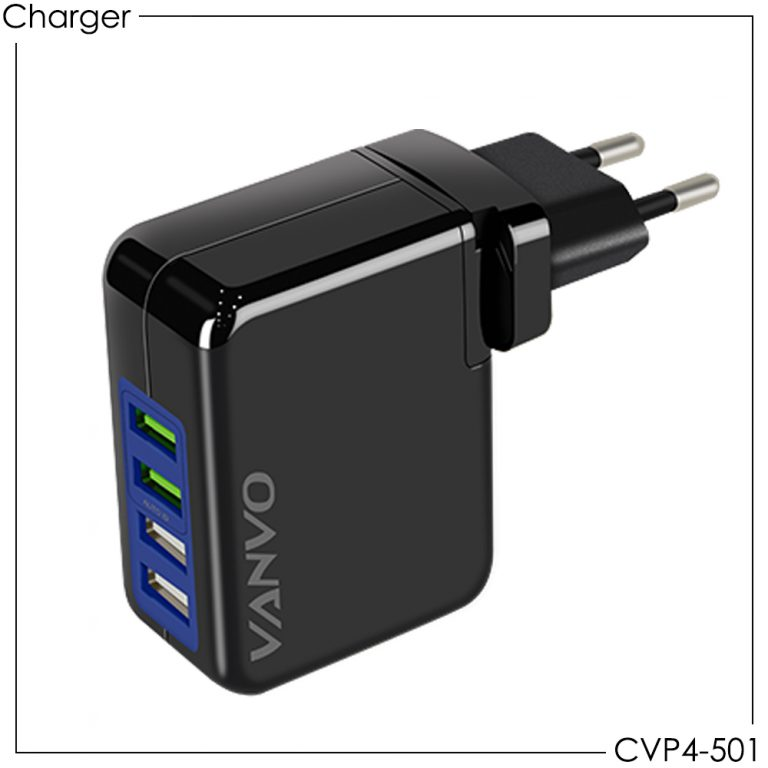 Home Charger 4 USB CVP4-501
