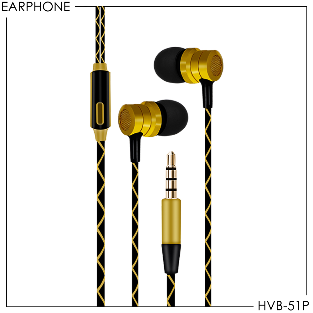 Fashion Earphone Stereo Vanvo HVB-51P