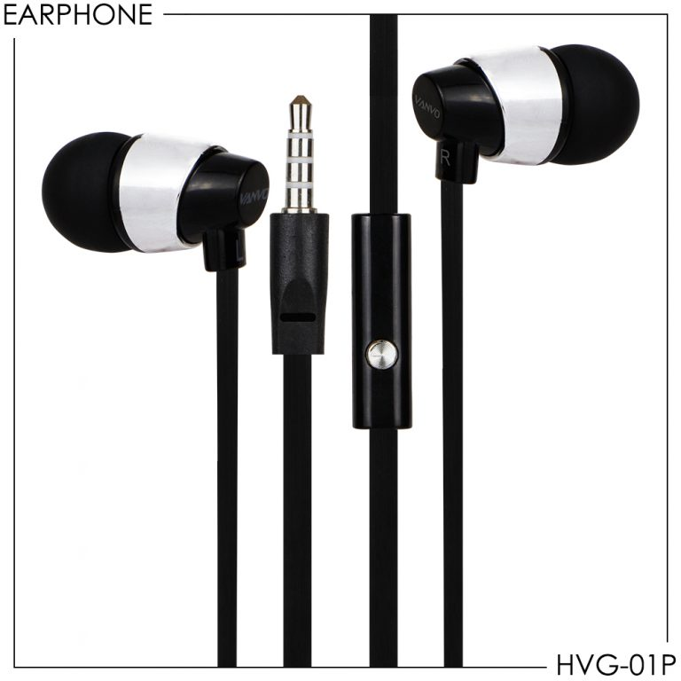 Super Bass Earphone Stereo Vanvo HVG-01P