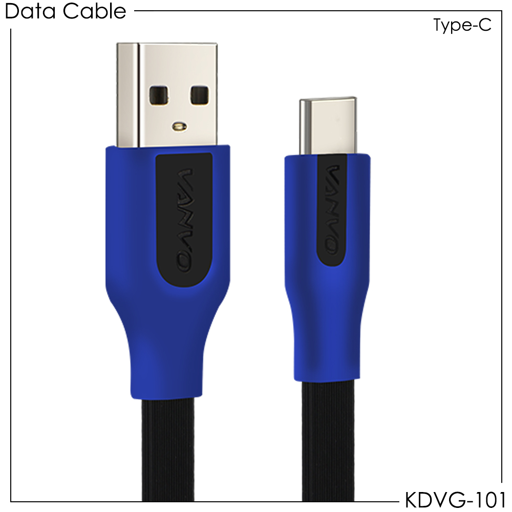 Kabel Data Vanvo KDVG-101 for Type-C