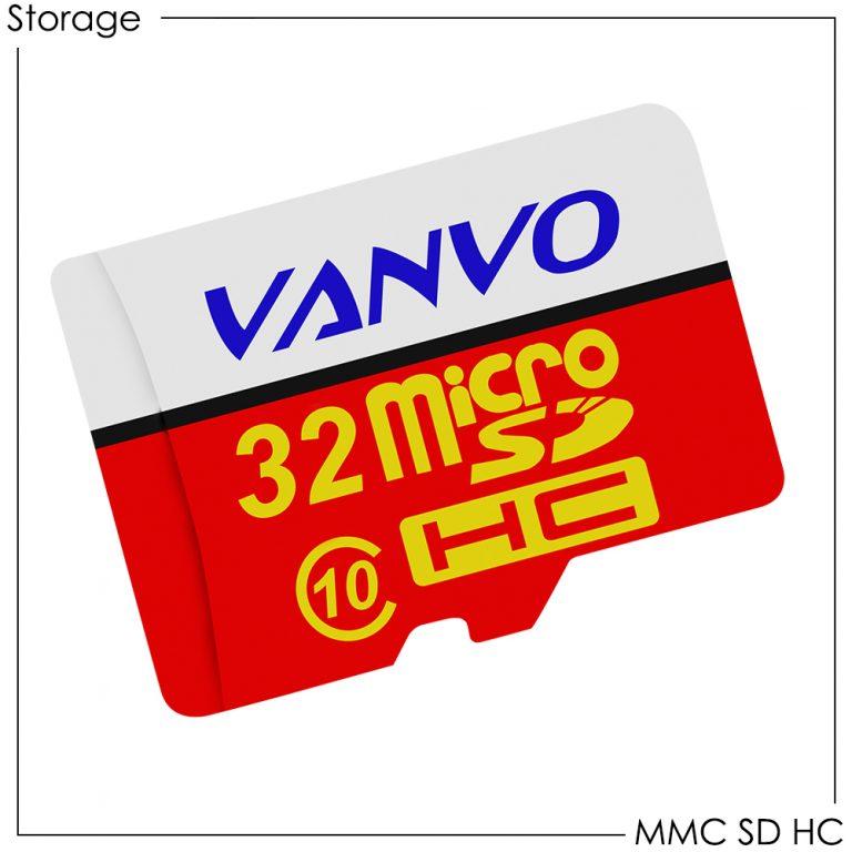 Vanvo Memory Card Micro SDHC 4GB/8GB/16GB/32GB