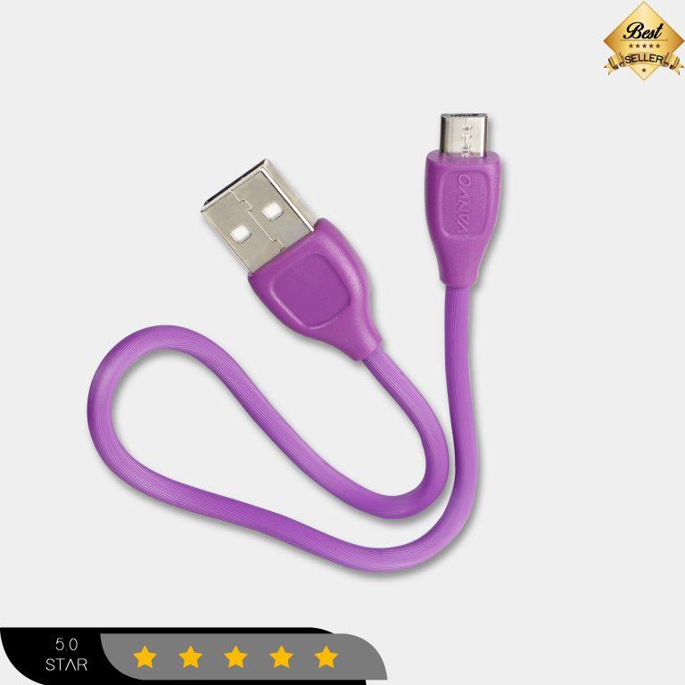 Kabel Data Vanvo VBT-302 25cm for Micro Fast Charging
