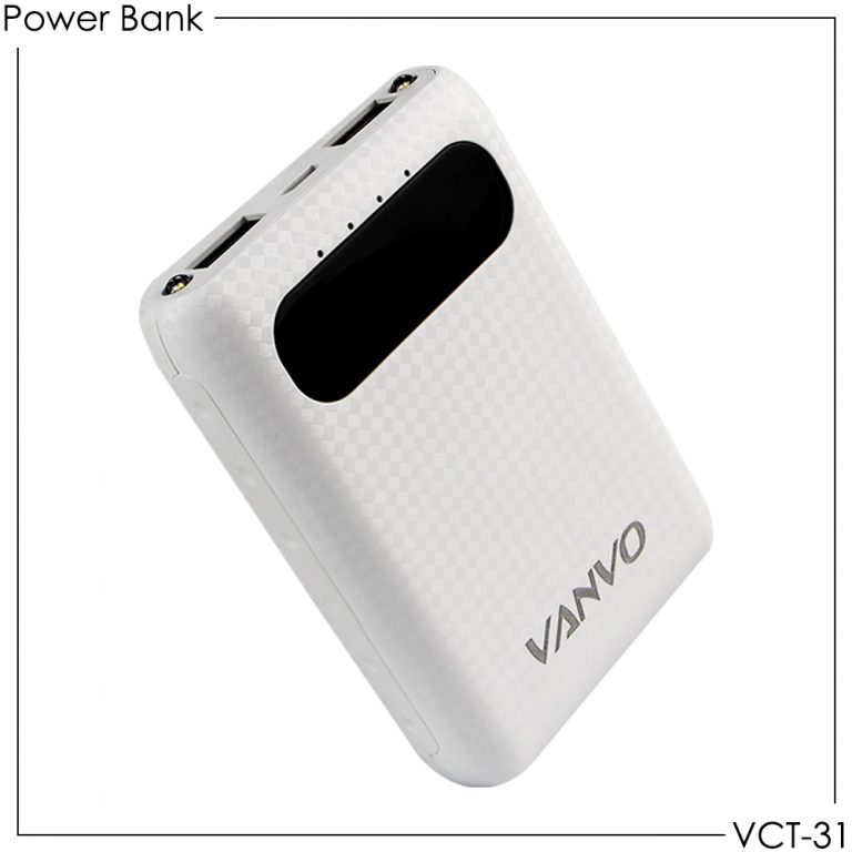 Power Bank Vanvo VCT-31 6600mAh