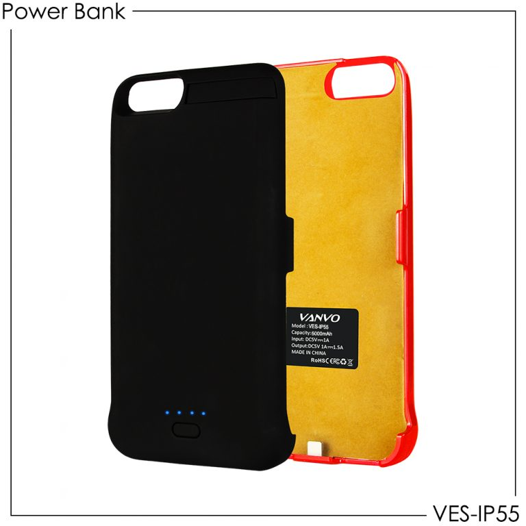 Power Case Vanvo VES-IP55 for Iphone 5.5 Inch 5000mAh