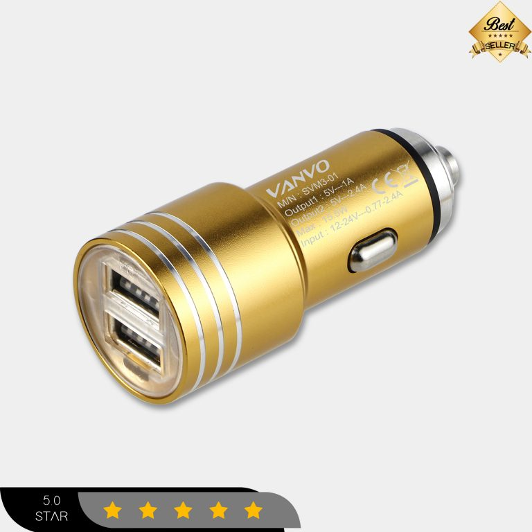 Charger Mobil Dual USB SVM3-01