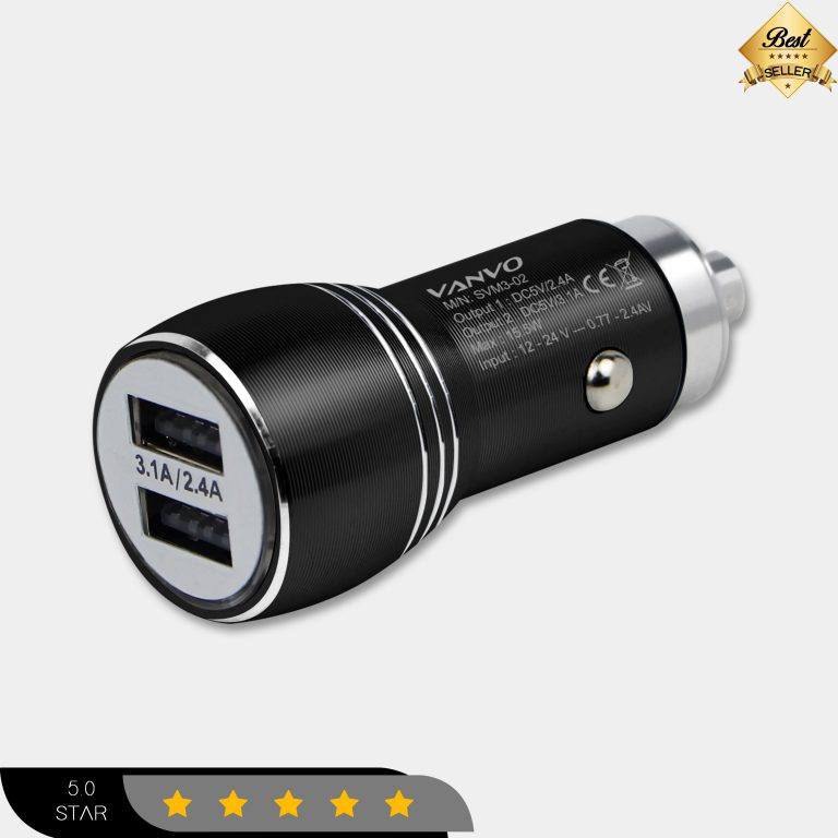 Vanvo Car Charger SVM3-02 Dual USB Output
