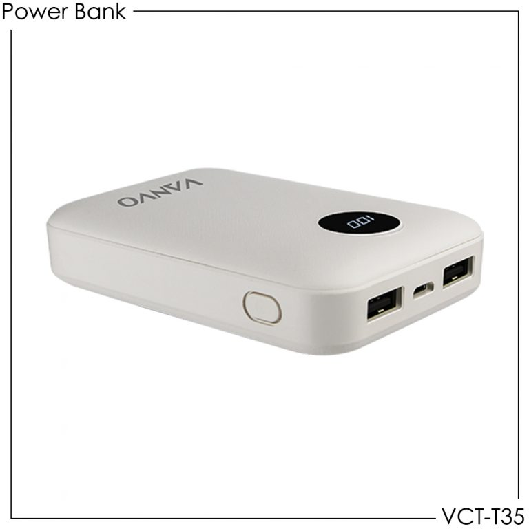 Power Bank Vanvo VCT-T35 6600mAh