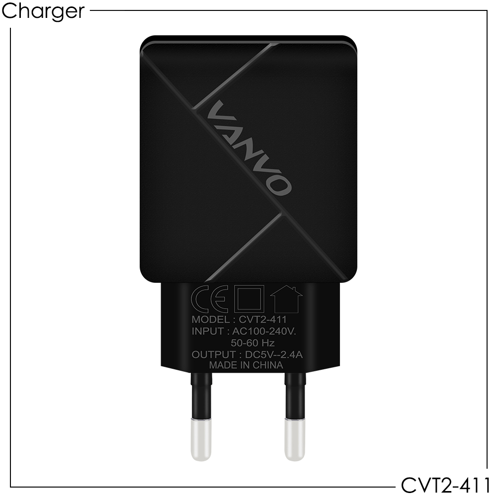 Vanvo Power Adapter Charger CVT2-411