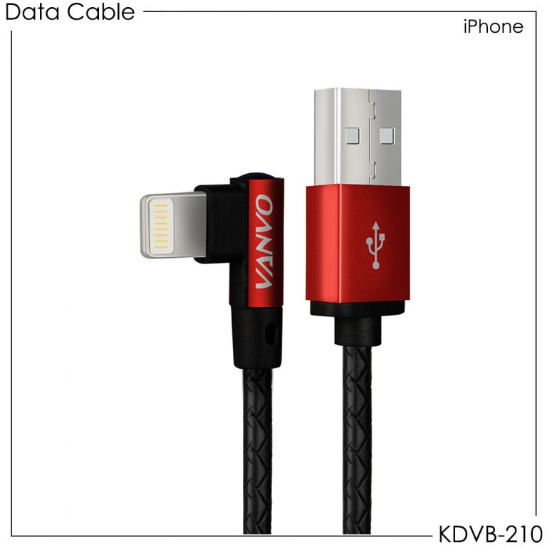Vanvo Data Cable KDVB-210 for iPhone 100cm