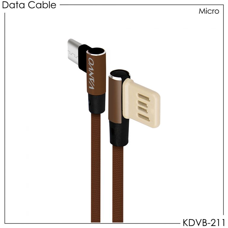 Vanvo Data Cable KDVB-211 for Micro 100cm