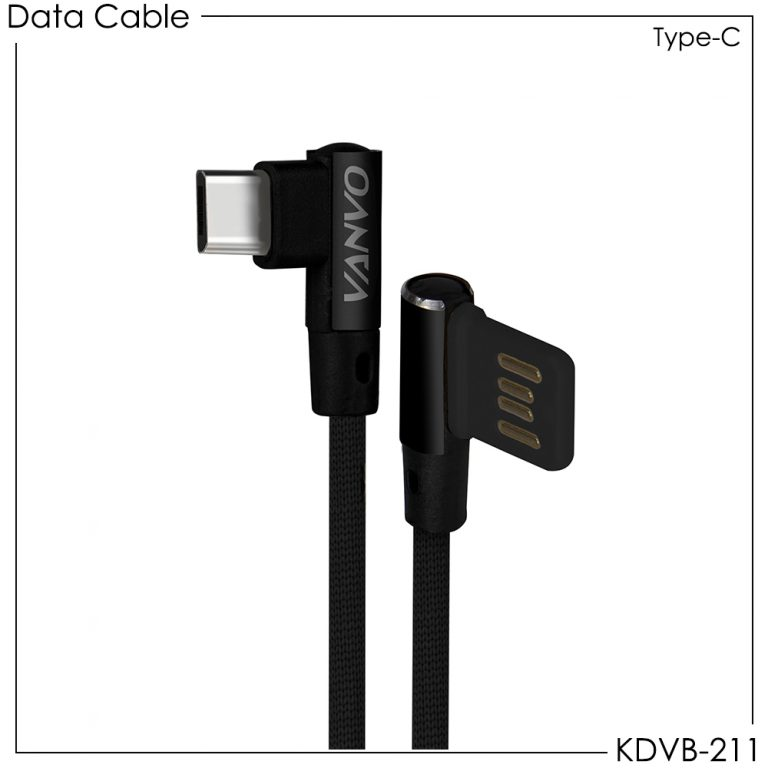 Vanvo Data Cable KDVB-211 for Type-C 100cm