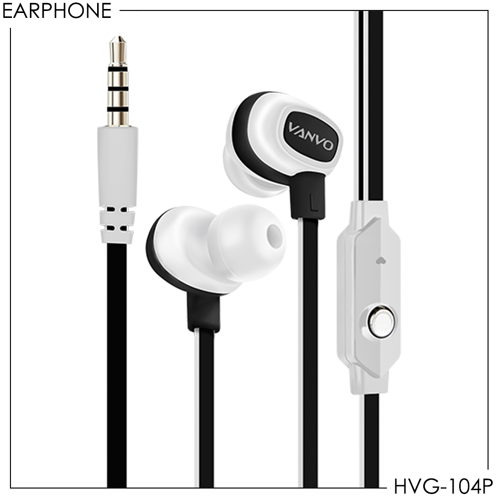 Stereo Earphone Vanvo HVG-104P