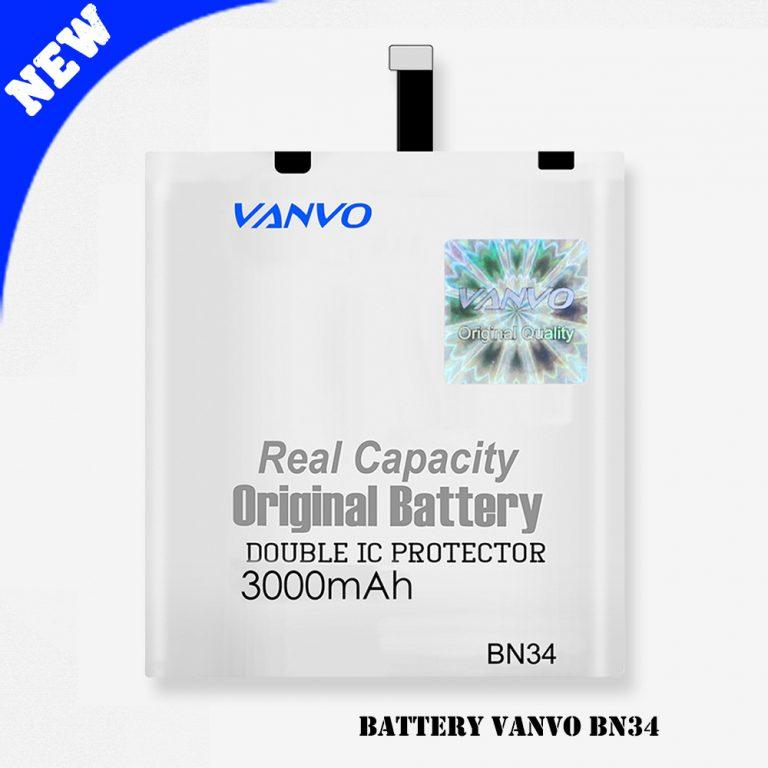 Battery Vanvo BN34 3000mAh
