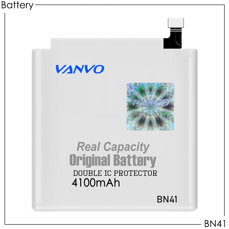 Battery Vanvo BN41 4100mAh (Redmi Note 4)