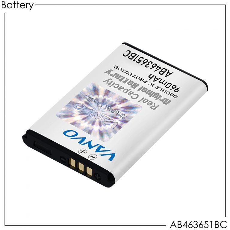 Battery Vanvo AB463651BC 960mAh